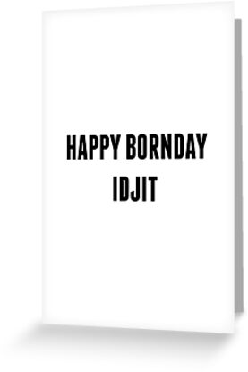 SUPERNATURAL - Happy Bornday Idjit by arnia-h