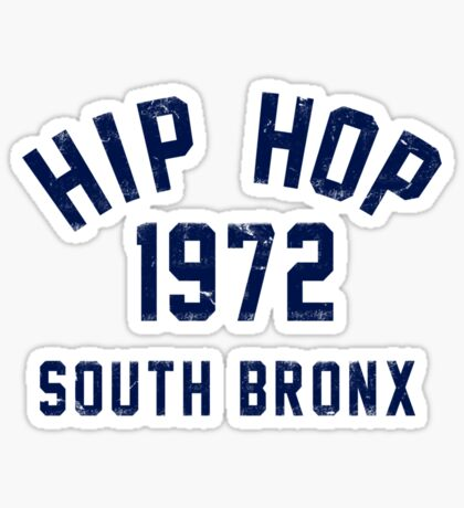 Hip Hop Sticker