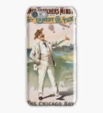 Performing Arts Posters George Thatchers Minstrels allied with Rich Harris Comedy Co in Tuxedo by Ed Marble 1745 iPhone Case/Skin