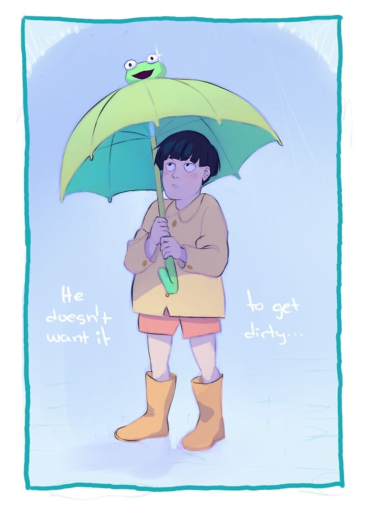 frog umbrella by azeher