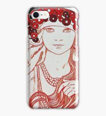 Alphonse Mucha - Mucha Exhibition iPhone Case/Skin