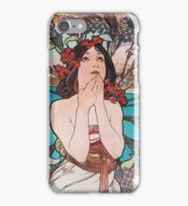 Alphonse Mucha - Manaco Monte Carlo iPhone Case/Skin