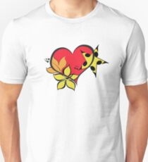 Love flower star colourful T-Shirt