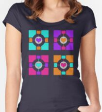 Companion Cubism Women's Fitted Scoop T-Shirt
