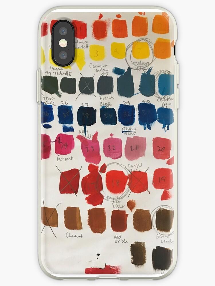 Colour testing by Deelara