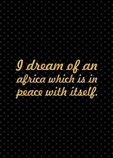 """A dream of an... """"Nelson Mandela"""" Inspirational Quote by Powerofwordss"""