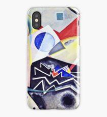 Vassily Kandinsky - White Zig Zags1922  iPhone Case/Skin