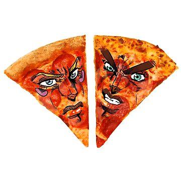 ~Battle Tendency Pizzeria~ by KokoroDroid