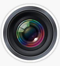 Kameraobjektiv Sticker