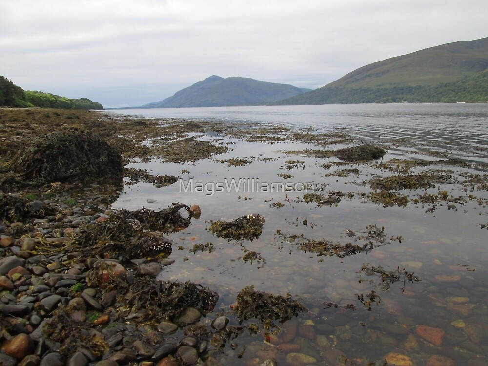 Loch Linnhe at Fort William, Scotland by MagsWilliamson