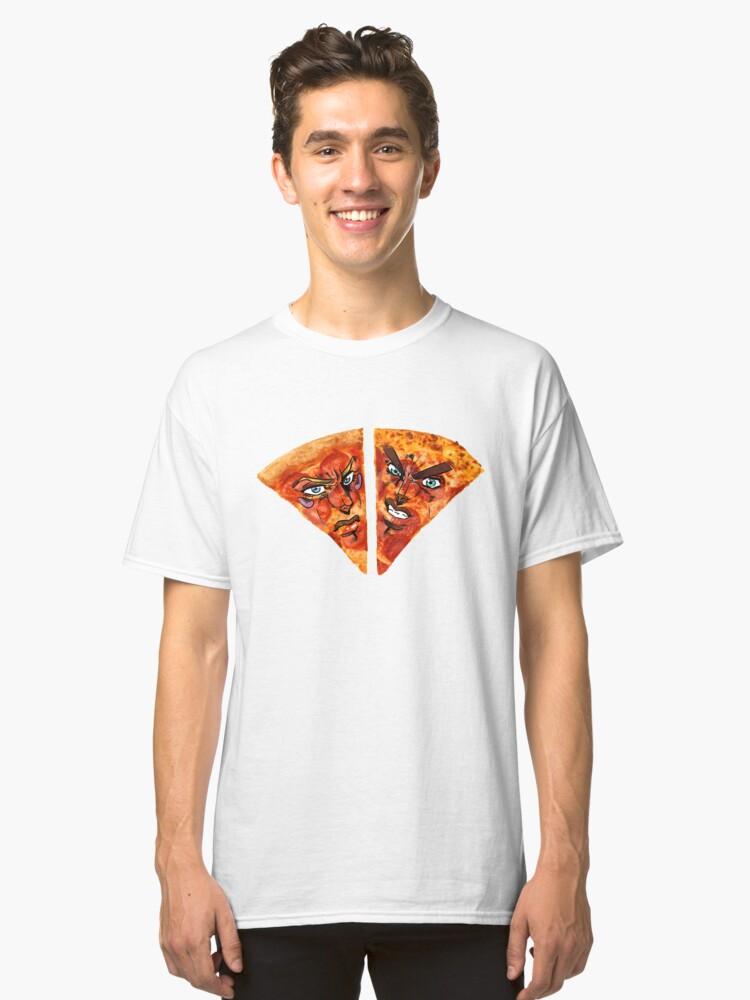 ~Battle Tendency Pizzeria~ Classic T-Shirt Front