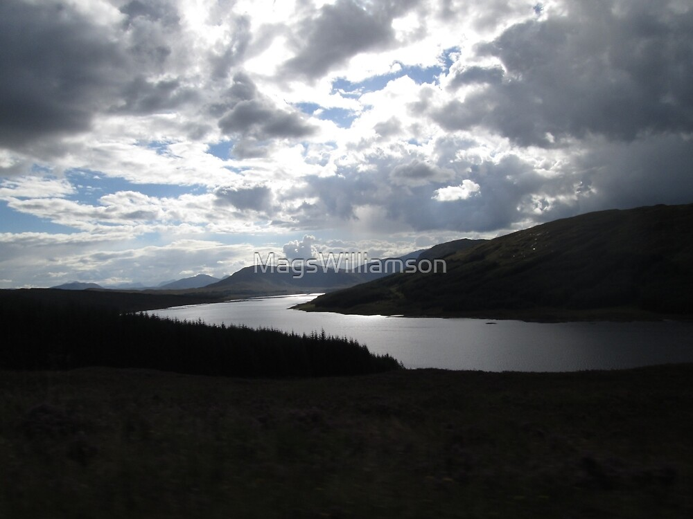 Near Glengarry Viewpoint, Scotland by MagsWilliamson