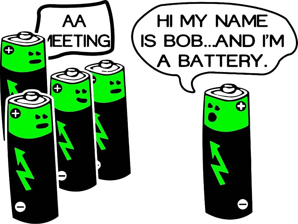 Aa battery meeting by ironwomennt