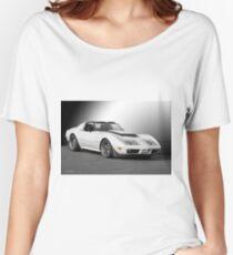 Chevrolet C3 Competition Corvette Women's Relaxed Fit T-Shirt