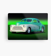 1948 Chevrolet Custom Coupe II Metal Print