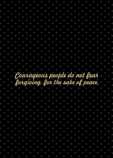 """Courageous people do not fear... """"Nelson Mandela"""" Inspirational Quote by Powerofwordss"""