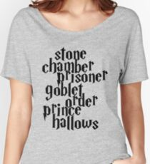 HP Books Women's Relaxed Fit T-Shirt