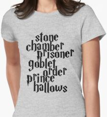 HP Books Womens Fitted T-Shirt