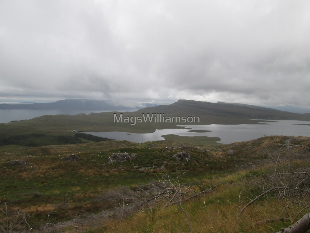 View From The Old Man of Storr, Skye, Scotland by MagsWilliamson