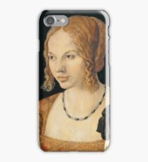 Albrecht Durer - Portrait Of A Young Venetian Woman 1505  iPhone Case/Skin