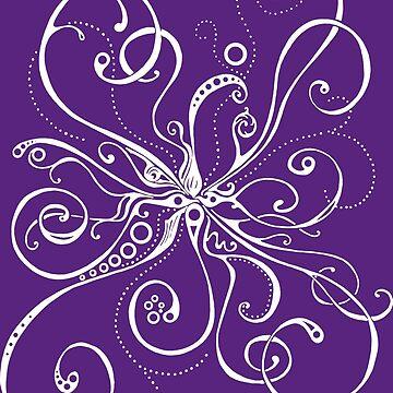 Purple Burst by CharlieLondon