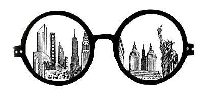 New York Skyline sunglasses by Sarahwasson13