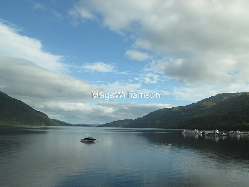 Tyndrum on Loch Lomond, Scotland by MagsWilliamson