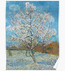 Vincent Van Gogh - Peach Trees In Blossom, 1888 Poster