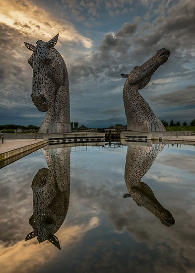 The Kelpies - Falkirk and Helix Park by Scotland2008