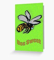 Bee Sweet Greeting Card
