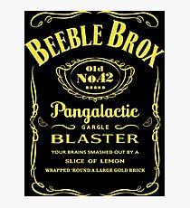 Pan Galactic Gargle Blaster Photographic Print