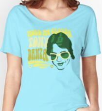 Hold Me Closer, Tony Danza - T-Shirt - Green Women's Relaxed Fit T-Shirt