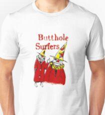 Butthole Surfer Clowns Slim Fit T-Shirt
