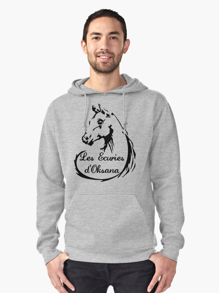 The stables of Oksana Pullover Hoodie Front