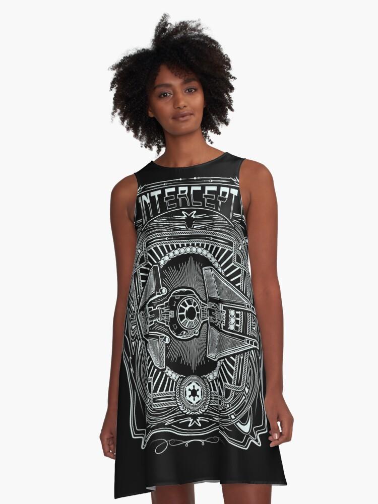 Intercept A-Line Dress Front