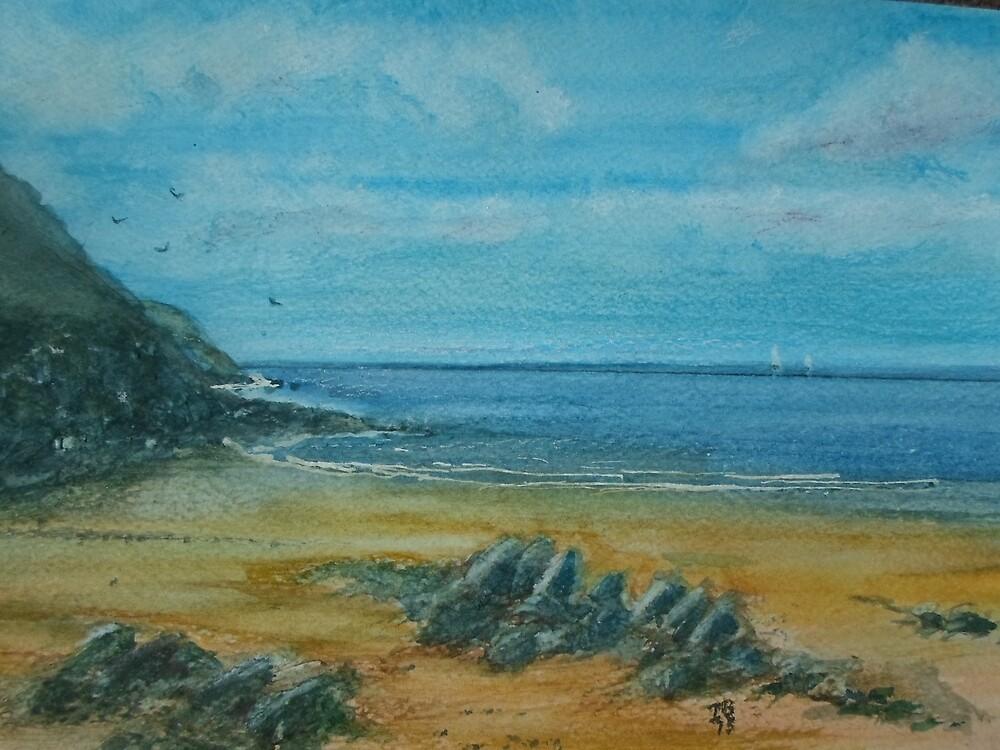 Dorset coast by Beswickian
