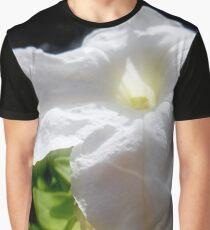 White Petunia Graphic T-Shirt