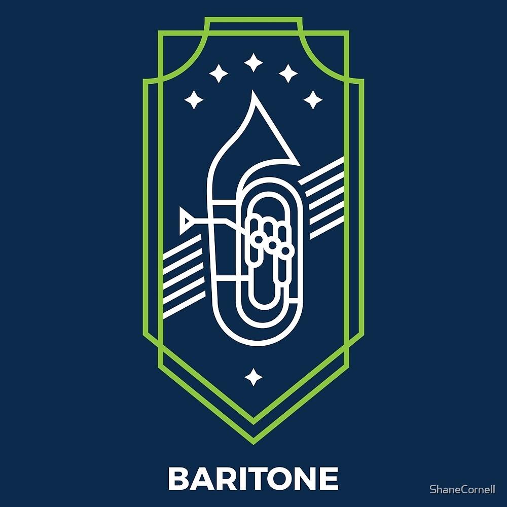 Baritone - White & Green by ShaneCornell