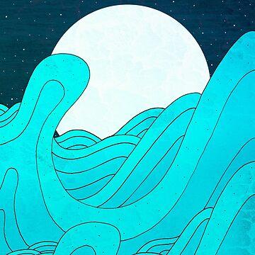 Der Mond und das Meer von steveswade