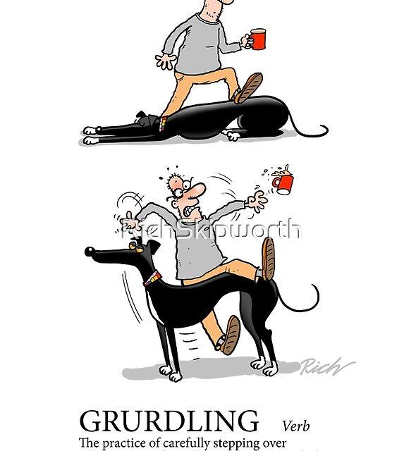 Greyhound Glossary: Grurdling by RichSkipworth