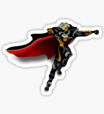 Alucard Jumping Sticker