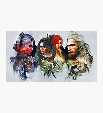 Witcher 3 Photographic Print