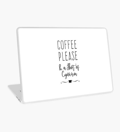 Coffee Please Laptop Skin