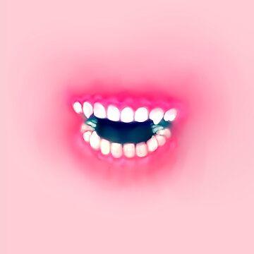 Pink Chompers by KokoroDroid