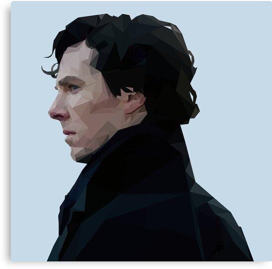 Sherlock Holmes Low Poly by EloisaRelish
