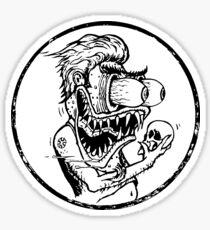 Roth's Hamlet - Wht filled  Sticker