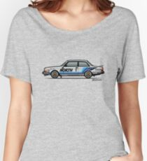 Volvo 240 242 Turbo Group A Homologation Race Car Women's Relaxed Fit T-Shirt