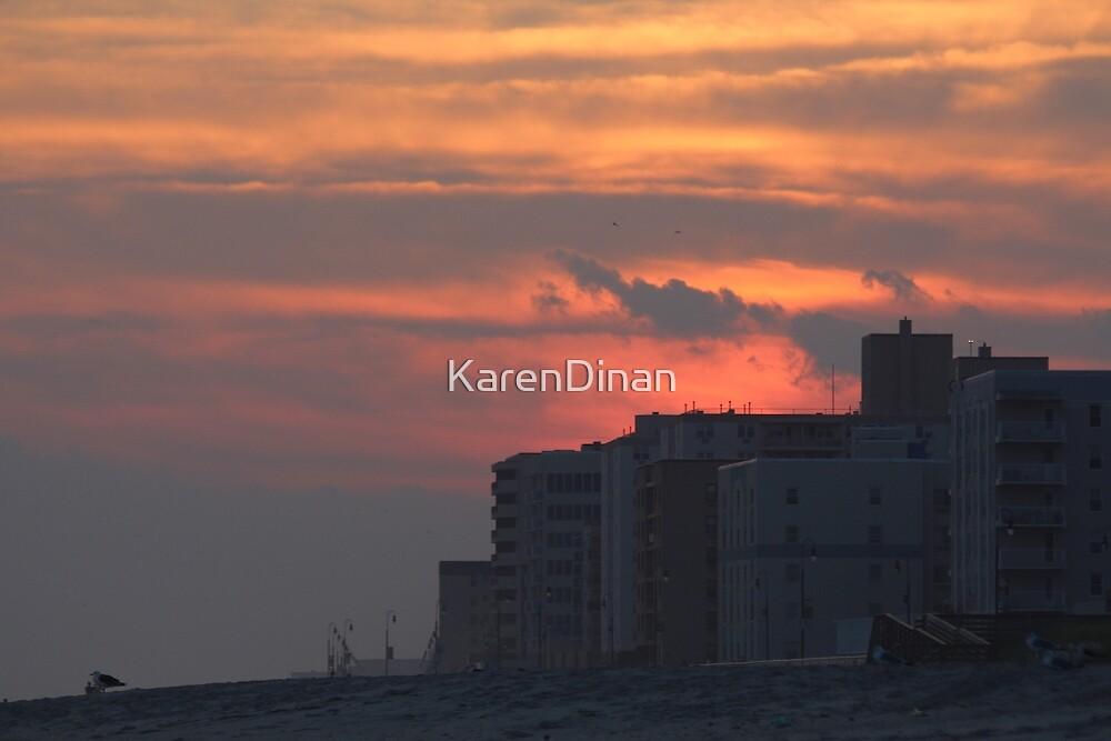 Pacific Beach Summer Sunset 9/8/16 by KarenDinan