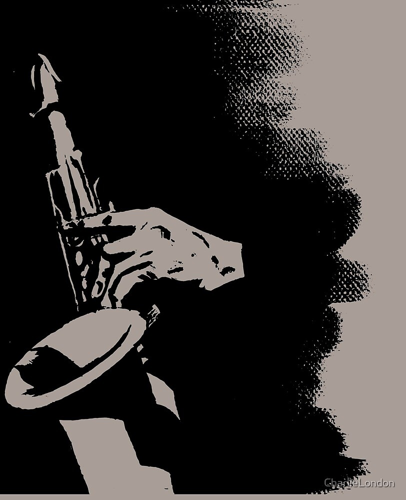 Saxophone Silhouette by CharlieLondon