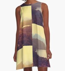 Austrian Landscape A-Line Dress